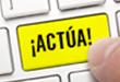 ACTÚA_Acción Online_menú desplegable