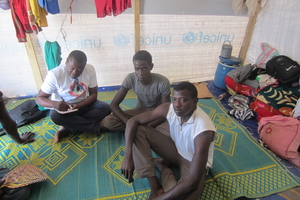 CAR Refugees in N'Djamena camp, Chad
