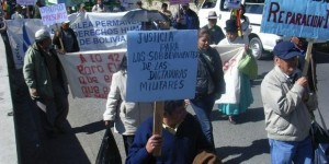 Bolivia manifestacion