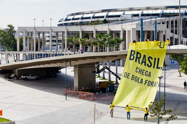 """No foul play, Brazil"" campaign"