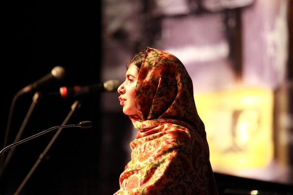 Malala Ambassador of Conscience Award Dublin 2013
