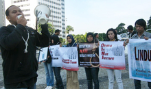 Anti-death penalty action 10/10/2010