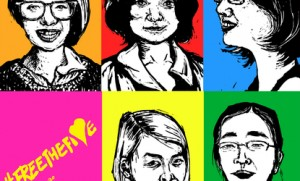 5 Chinese women's rights activists