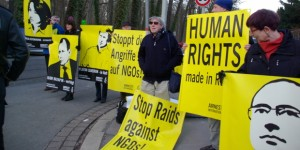AI-Protests against Human Rights-Violations in Russia