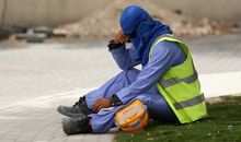 Constrction worker - Qatar - May 2015