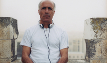 Mordechai Vanunu, within the grounds of St George's Cathedral, East Jerusalem, 2-3 years after his release from prison in 2004.