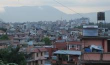 View of Kathmandu., Nepal 2012.
