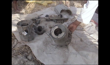 Missile debris from drone strike that killed 68 year old grandmother Mamana Bibi in front of her grandchildren in the village of Ghundi Kala, North Waziristan, Pakistan, on the 24 October 2012.
