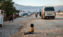 Beqaa Valley - Syrian refugee camp