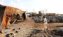 The Beni Hassan Electrical Plant after Saudi Arabia-led coalition air strikes in October 2015, Beni Hassan, Abs, Hajjah, 11 November 2015. © Amnesty International