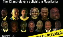 Appeal--13 Mauritanian Anti-Slavery Activists