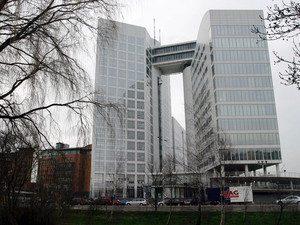 International Criminal Court building, location of EUROJUST office, The Hague, Netherlands.
