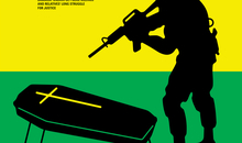 "Art illustration realized by Argentinean graphic artist Dr. Alderete for the cover of Amnesty International's report ""Waiting in Vain - Jamaica: Unlawful police killings and relatives´ long struggle for justice"" (AMR 38/5092/2016)."